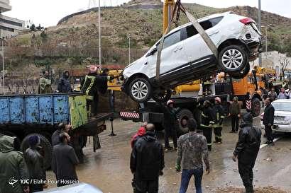 باشگاه خبرنگاران -خسارات سیل شیراز