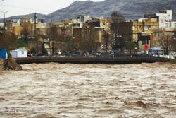خسارات سیل در استان لرستان