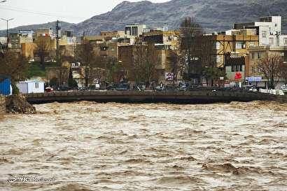 باشگاه خبرنگاران -خسارات سیل در استان لرستان