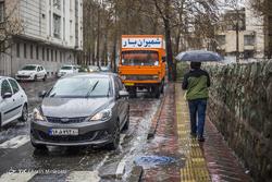 بارش باران تُند بهاری در تهران