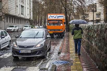 باشگاه خبرنگاران -بارش باران تُند بهاری در تهران
