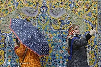 باشگاه خبرنگاران -مسافران نوروزی در کاخ گلستان