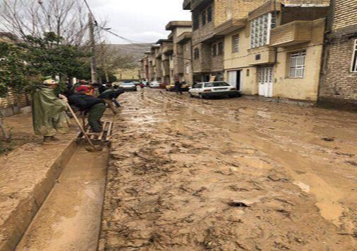 آخرین وضعیت از سیل در فارس چهارشنبه ۷ فروردین ماه/تخلیه روستاهای شرق شیراز برای رفع خطر جانی
