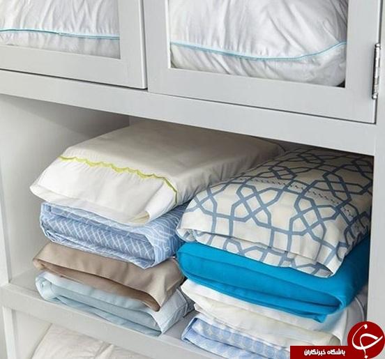 چطور کمد و رختخواب ها را خوشبو کنیم؟