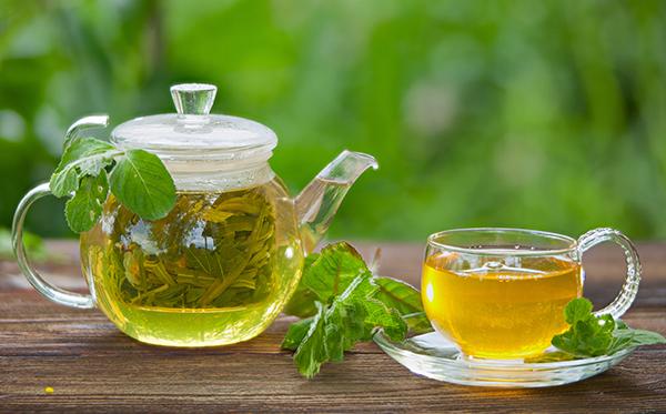 بهبود سرطان ریه با چای سبز