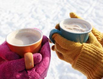 نوشیدن مایعات داغ در فصل زمستان ممنوع