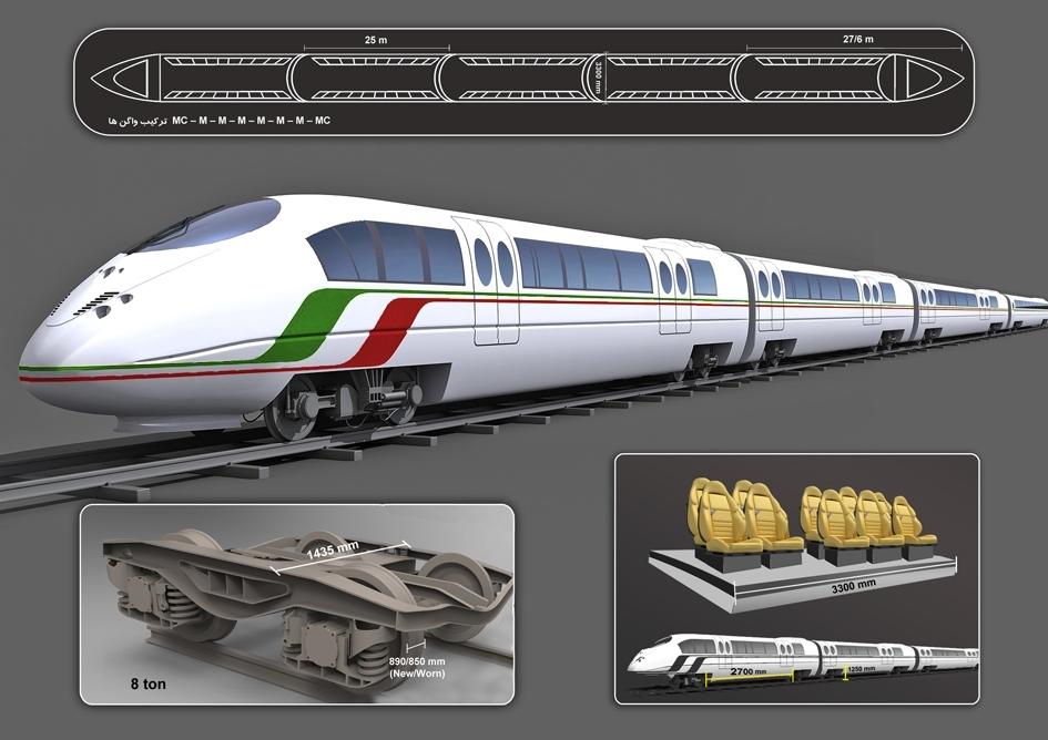 توقف قطار اصفهان - تهران در ایستگاه تامین اعتبار