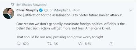 توئیت کریس مورفی