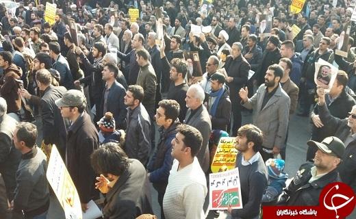 راهپیمایی مردم استان سمنان در پی ترور شهید سلیمانی برگزار شد