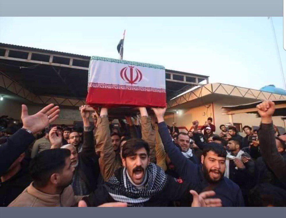 تصاویری از پیکرهای پاک شهدا آماده برای تشییع