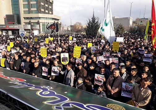 کرمانشاه در سوگ سردار دل ها