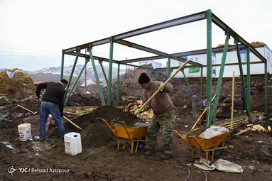 هیچ زلزلهزدهای در آذربایجان شرقی در چادر سکونت ندارد/ ساخت بیش از ۲۵۵ اتاقک ۱۲ متری برای متقاضیان