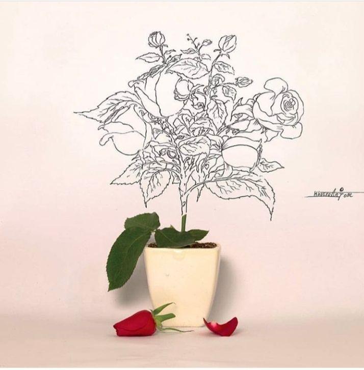 آثاری که هنرمندان به یاد سردار سلیمانی خلق کرده اند+ تصاویر