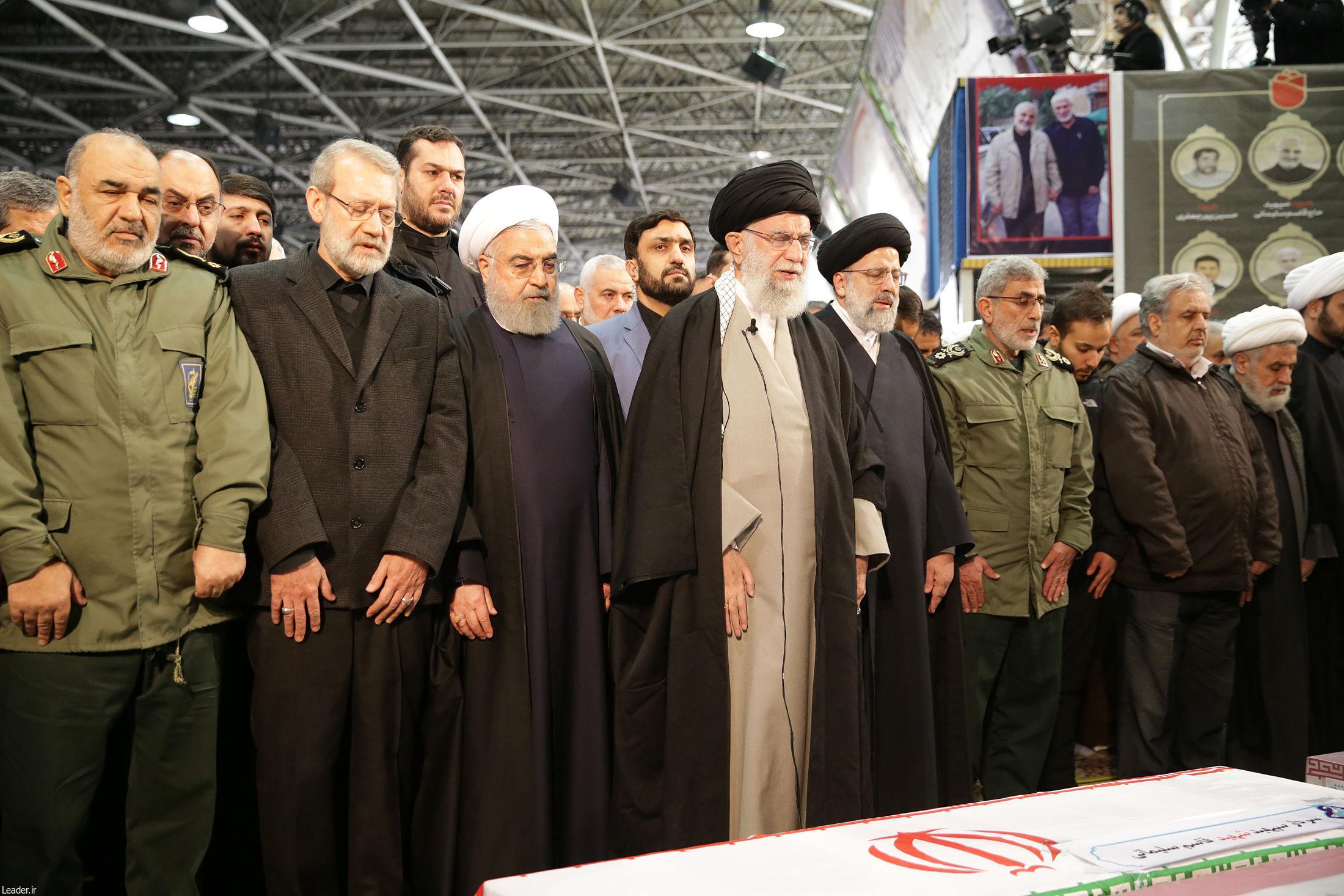 بازتاب جهانی مراسم تشییع سردار سلیمانی در تهران
