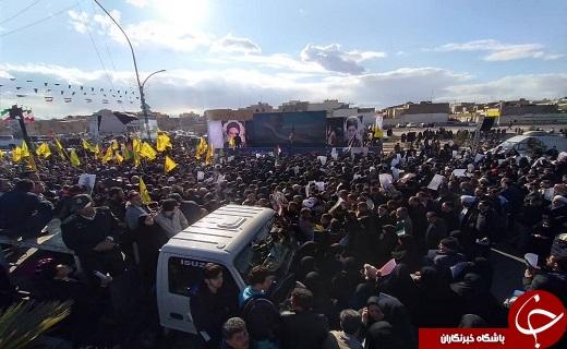 چشم انتظاری مردم قم برای ورود سردار قلب ها+تصاویر