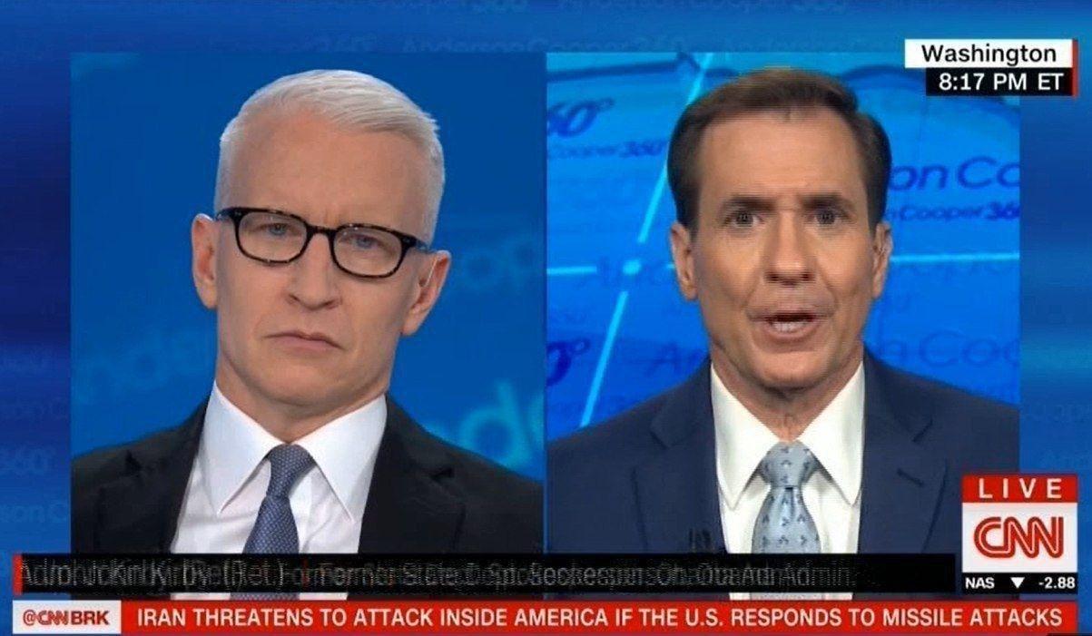 جان کربی: ایران به آمریکا نشان داد توان آسیب زدن به نیروهای این کشور را دارد