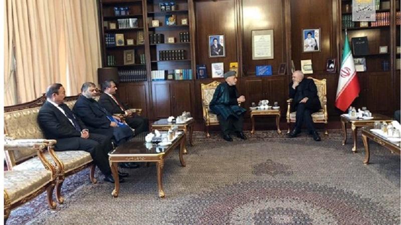 کرزی: ایران به ایجاد ثبات در افغانستان کمک کرد