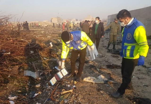 ناگفتههای تکاندهنده شاهدان عینی از جزئیات سقوط هواپیمای اوکراینی