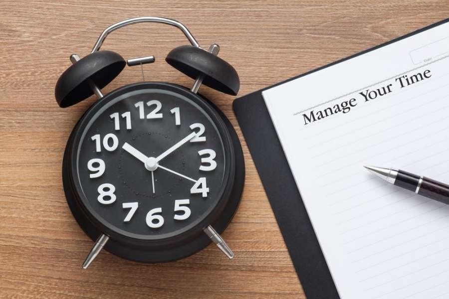 مدیریت زمان در روزهای پر مشغله