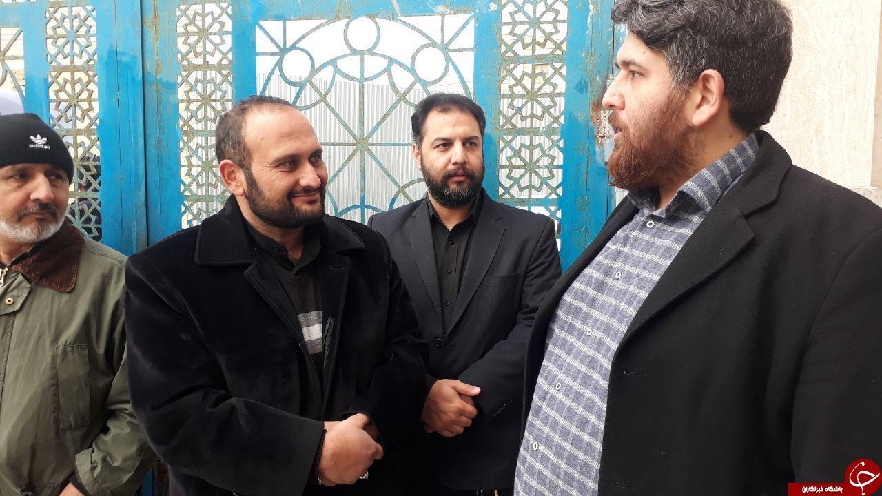مراسم تجلیل از «سردار سلیمانی» و شهدای مقاومت توسط مهاجرین افغانستانی مقیم مشهد + تصاویر