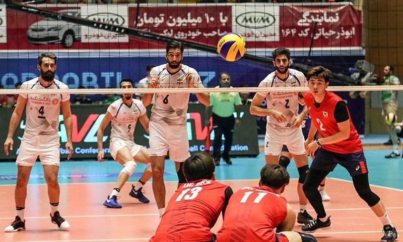 تیم ملی والیبال ایران - کره جنوبی / تقابل سنتی و دیدنی چشم بادامیها و بلندقامتان در جیانگمین