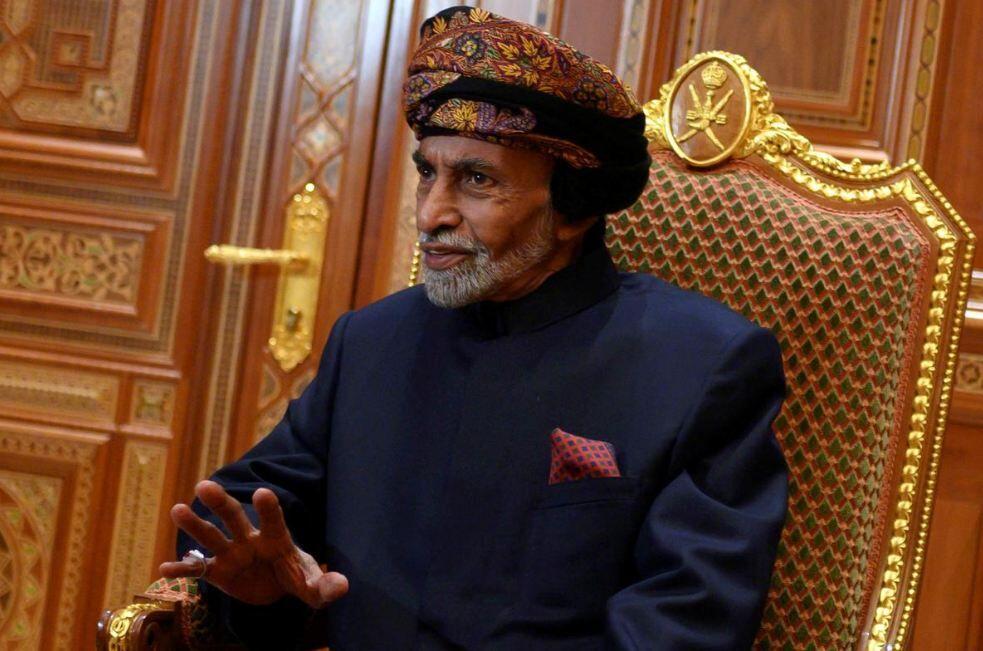 پادشاه عمان فوت کرد