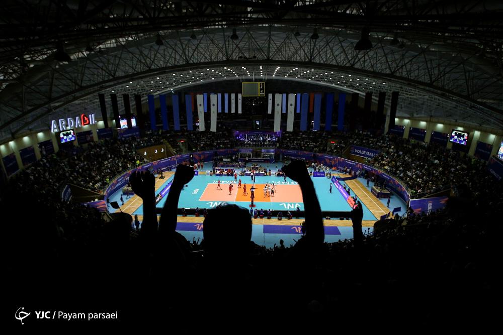 پخش زنده والیبال ایران - کره جنوبی