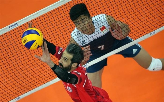 والیبال انتخابی المپیک / بلند قامتان به مردان سرزمین اژده هارسیدند/ توکیو در یک قدمی سروقامتان