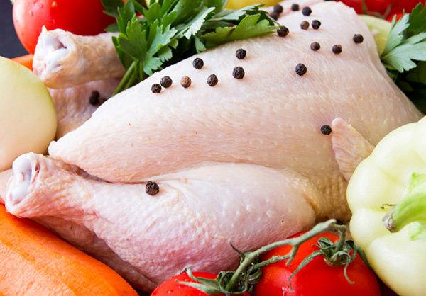 تاثیرات پوست مرغ