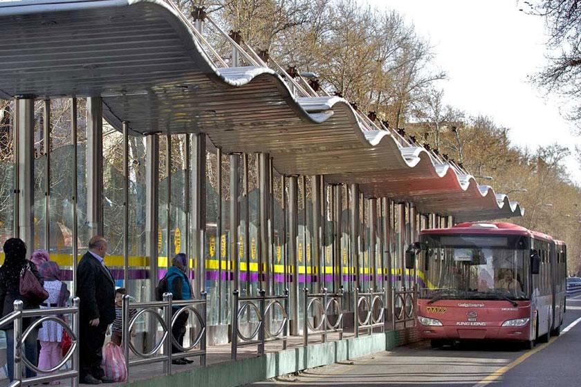 تهران ما//// نقص فنی اتوبوس ها عامل خروج اتوبوس ها از خط ویژه
