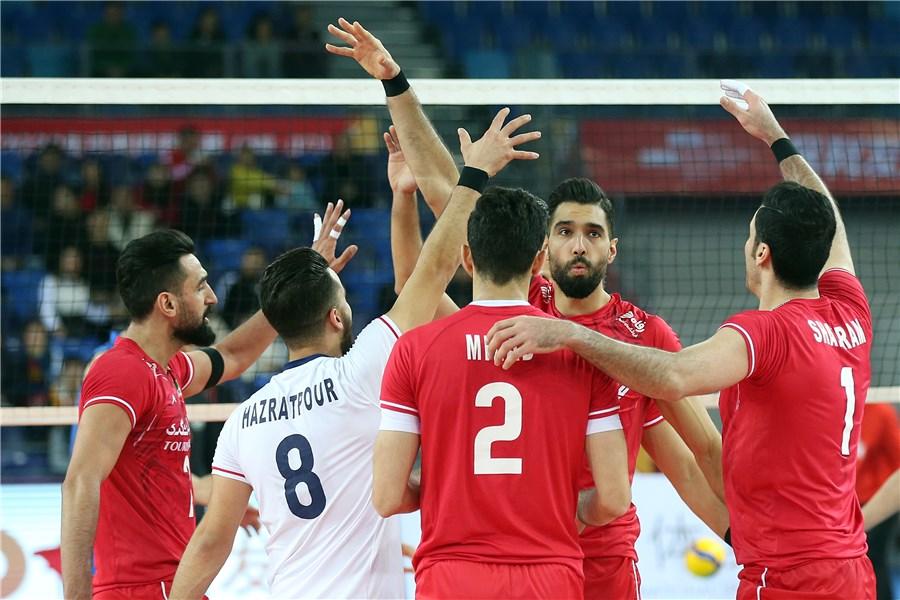 والیبال انتخابی المپیک / ایران ۰ - چین ۰