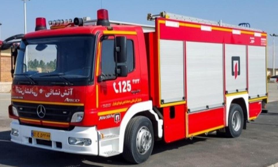 عملیات ماموران آتش نشانی در ماه گذشته