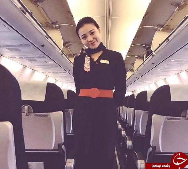 اقدام انساندوستانه مهماندار هواپیما سوژه رسانه ها شد///