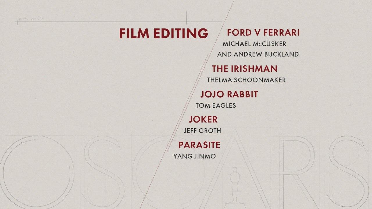 نامزدهای جوایز اسکار ۲۰۲۰ اعلام شدند