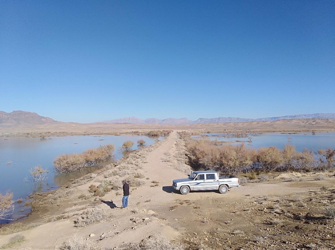 آبگیری حوضچههای تغذیه مصنوعی شهرستان زرین دشت