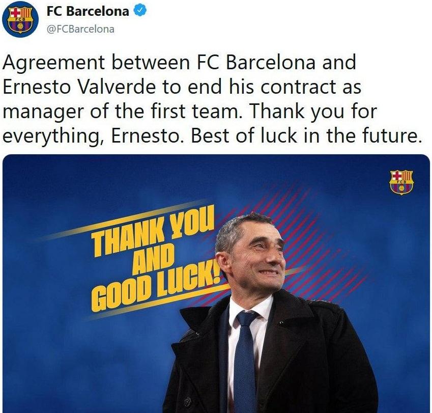 سرمربی بارسلونا معرفی شد
