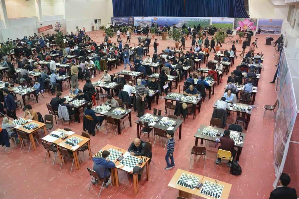 رشت میزبان رقابتهای شطرنج بین المللی کاسپین کاپ