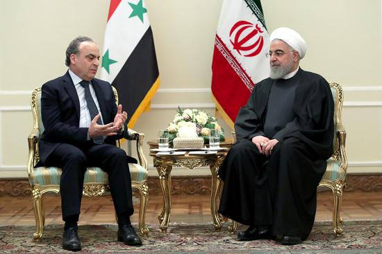 نخست وزیر سوریه با رئیس جمهور دیدار کرد