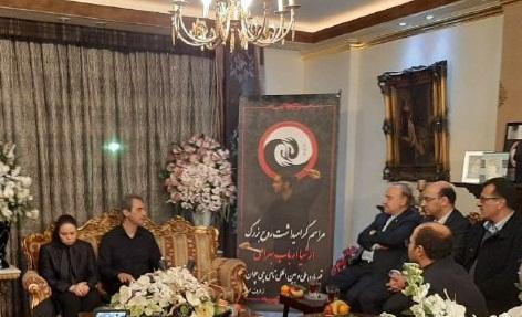 دیدار وزیر ورزش و جوانان با خانواده شهید ارباب بهرامی