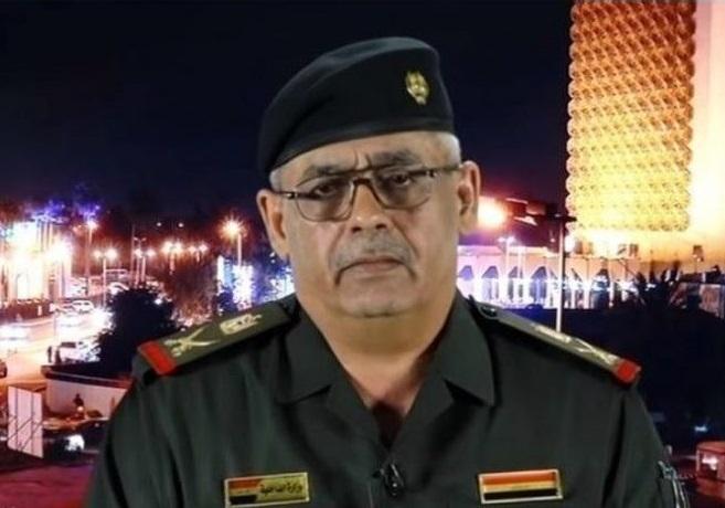 عبدالکریم خلف، سخنگوی فرمانده کل نیروهای مسلح عراق