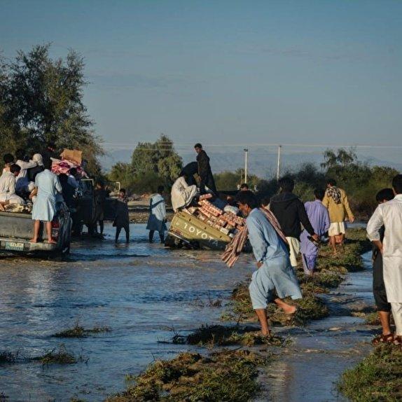 مناتطق سیل زده در سیستان و بلوچستان