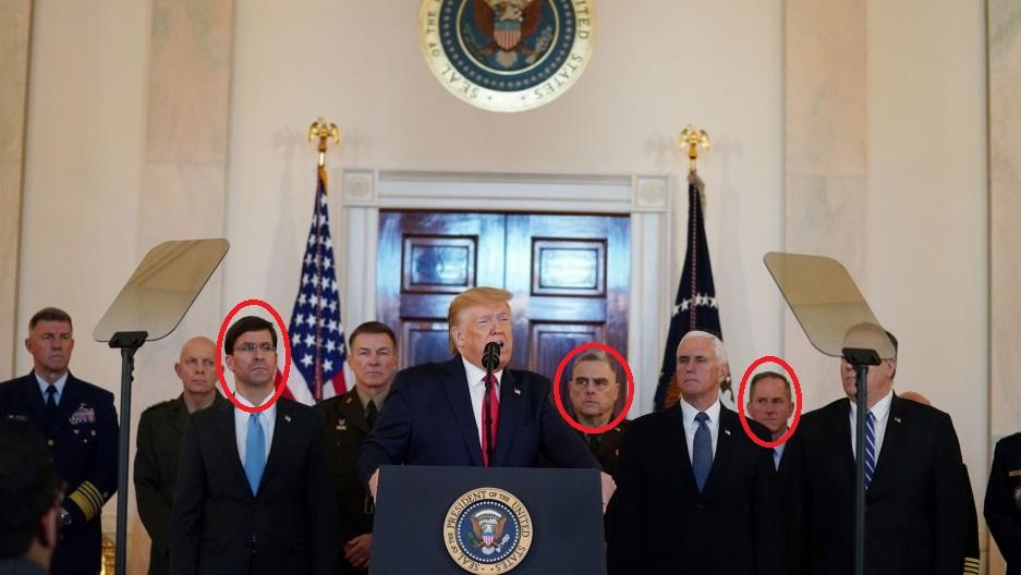 ////سیلی محکم ایران علیه تروریستهای آمریکایی نواخته شد/ خروج فوری نظامیان آمریکایی، مطالبه اصلی هستههای مقاومت