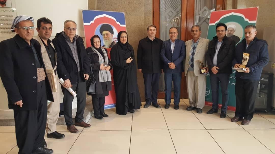 تجلیل رییس جمهور از ۶ نمونه ملی بخش کشاورزی آذربایجان غربی