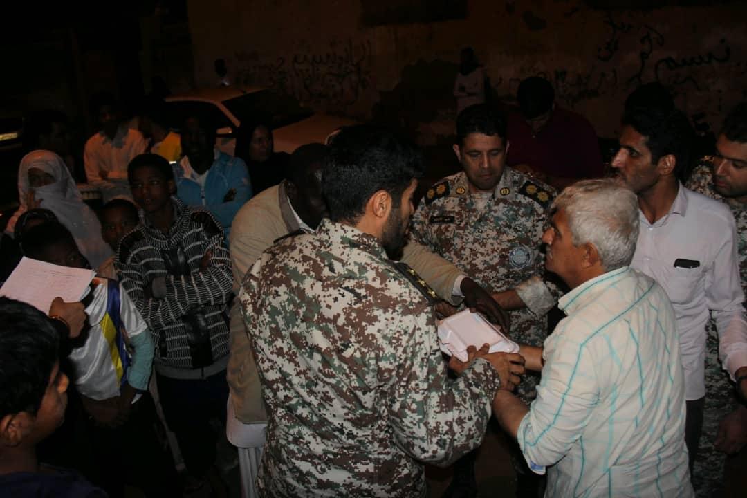 امدادرسانی به هموطنان سیل زده در شهرستان کنارک