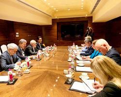 دیدار ظریف و وزیر امور خارجه استونی در هند
