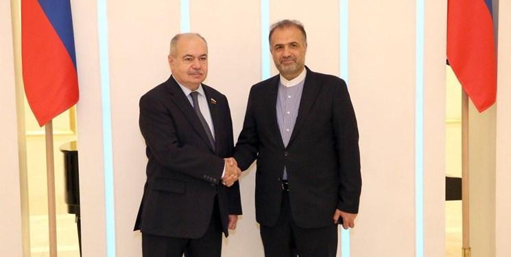 جلالی با معاون رئیس شورای فدراسیون روسیه دیدار کرد