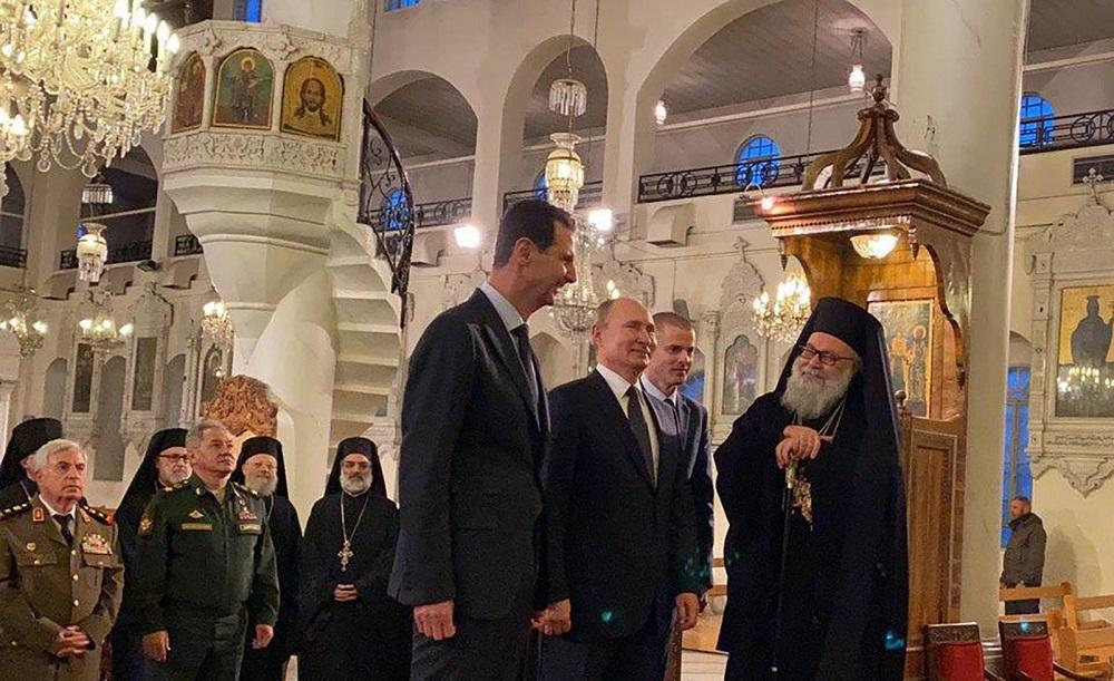 وقتی پوتین و اسد، ترامپ را مسخره میکنند! + فیلم