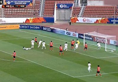 خلاصه بازی تیم امید کره جنوبی و تیم امید ازبکستان در ۲۵ دی ۹۸ + فیلم