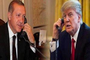 گفتوگوی تلفنی ترامپ و اردوغان درباره منطقه و لیبی
