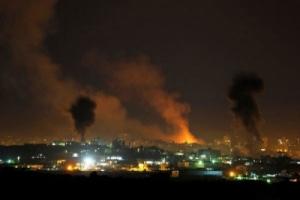 شنیده شدن صدای انفجار در شمال نوار غزه